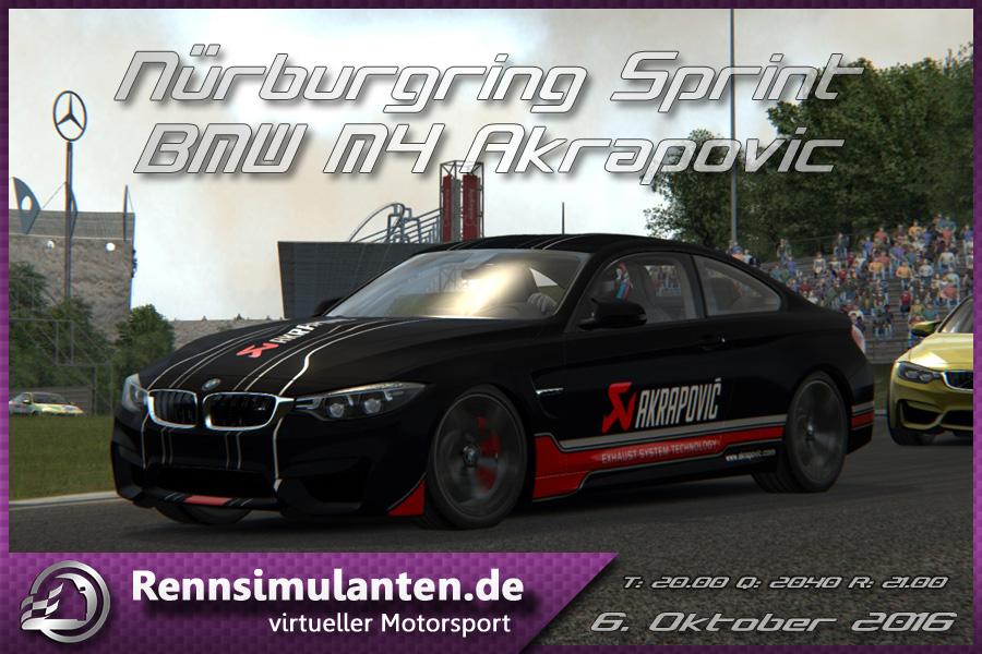 1640 M4Akrapovic NurburgSprint
